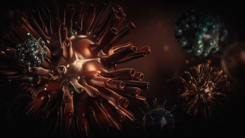 Corona Virus Background Animation