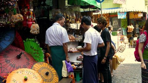 Bogyoke Aung San Market ext 9 Live影片
