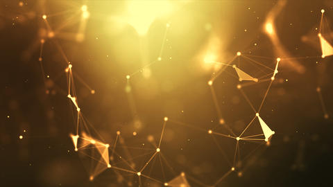 Abstract background network dot and connect line (3) フォト
