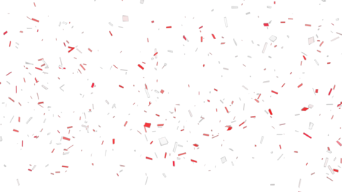 New Year Celebration Confetti Falling Animation