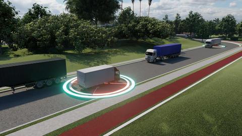 Smart city concept. Business system concept. Software concept illustration Live Action