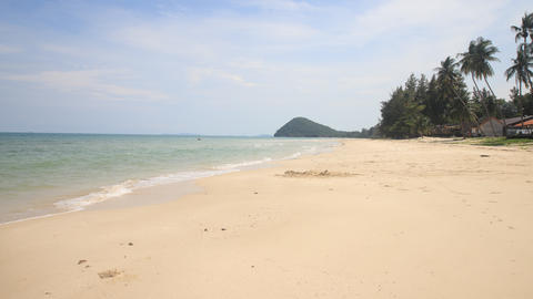 Beautiful sea and blue sky at Andaman sea,thailand Live Action