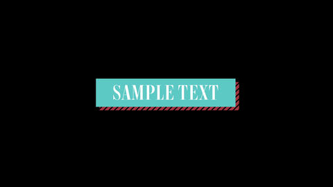 Lowerthird 002 Motion Graphics Template