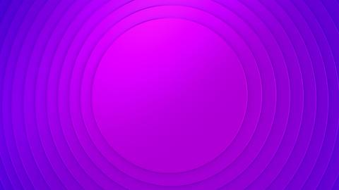 Background of Circles CG動画