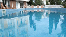 Swimming pool at hotel Footage