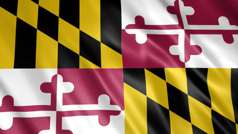 Maryland State Flag Animation
