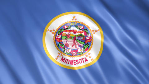 Minnesota State Flag Animation