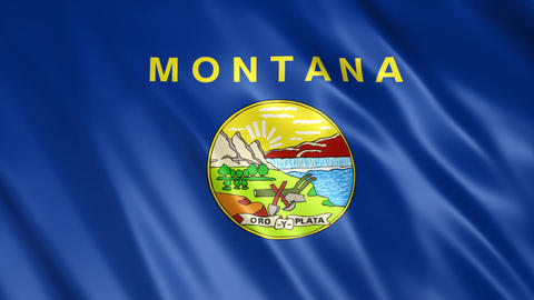 Montana State Flag Animation