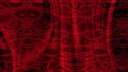 Red wavy organic motion background animation stock footage Animation