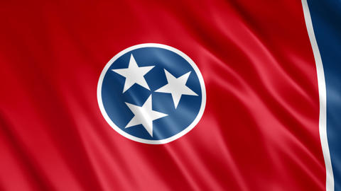 Tennessee State Flag Animation