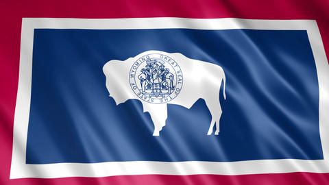 Wyoming State Flag Animation