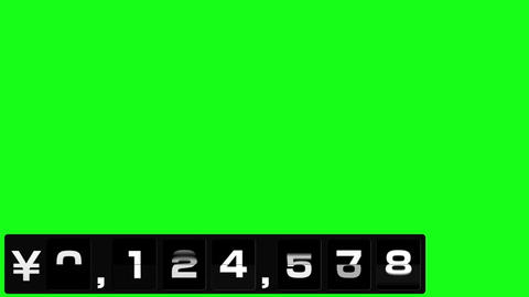 反転フラップ式値段表(7桁) After Effectsテンプレート