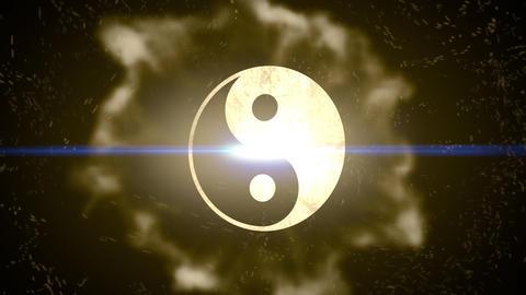 Ying yang-Energy Burst Logo Animation