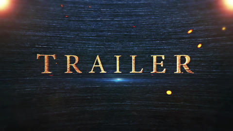 Epic Trailer Titles After Effects Template