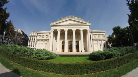 Athenee Palace, Landmark In Downtown Bucharest, Architecture, Cultural Center 이미지