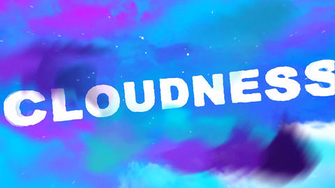 Cloudness After Effects Template