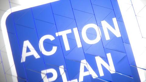 Action plan-Triangled slacks accordion Animation