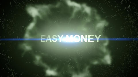 Easy money-Energy Burst Animation