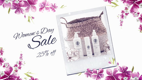 Mother´s Day Product Promo After Effects Template