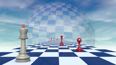 Chess (conceptual Art Images Symbols And Metaphors). 2