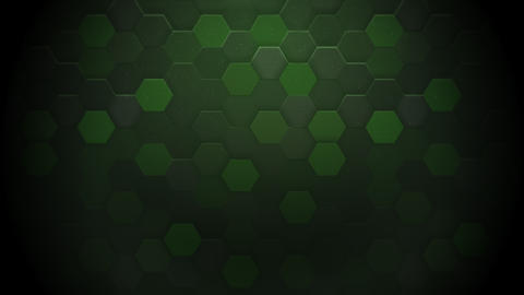Motion dark green hexagon abstract background Animation
