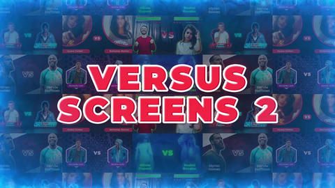 Versus Screens 2 After Effects Template