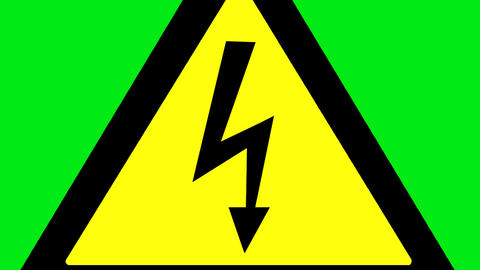 Electricity danger Animation