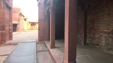 Fatehpur Sikri, India - ancient architecture from the past part 15 Live Action