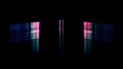 Energy Vertical Vibrant Lights Fast Motion Animation