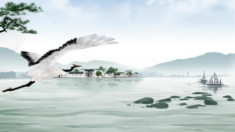 Chinese landscape 3 After Effects Template