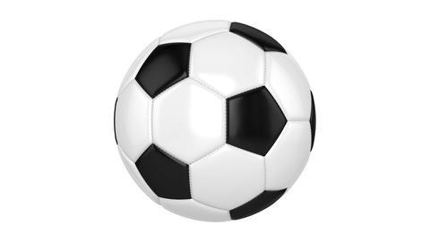 Soccer Ball CG動画素材