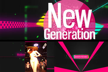 NewGeneration Opener After Effects Project