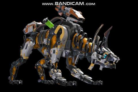 Cyber Scorcher Cyber Dog Modelo 3D