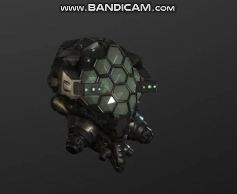 The Cyber hornet military helmet Modelo 3D