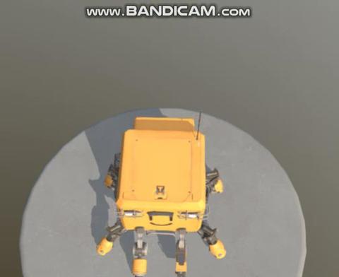 Cyber Box Bot 3D Model