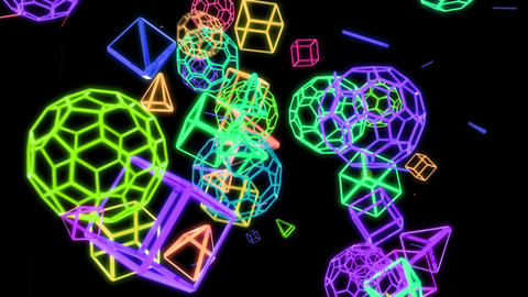 Geometric Crazy Motion Background V3 Animation