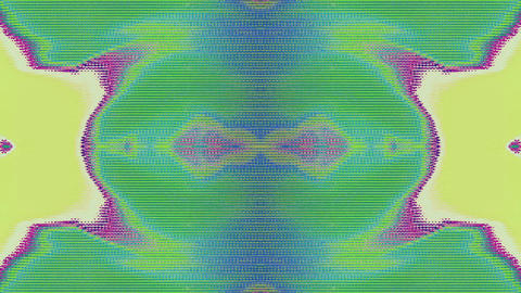 Hypnotizing bad trip effect light transformations iridescent background Live Action