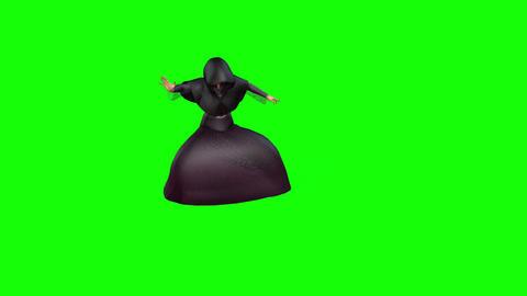 427 3d animated halloween death figure Animation