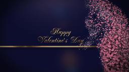 Pink Heart Valentine's Day Animation