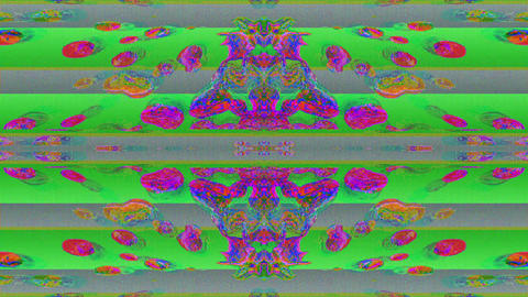 Organic star kaleidoscope, multicolored motion graphic for meditation projects Live Action