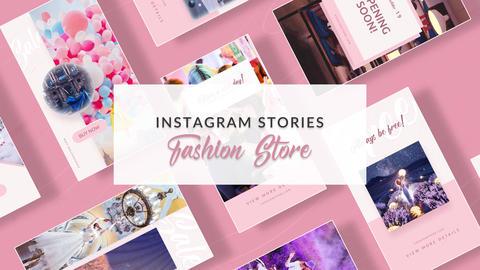 Instagram Stories: Fashion Store Vol 2 Plantilla de After Effects