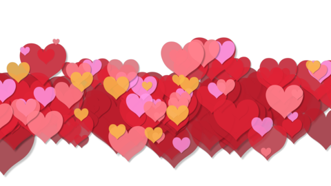Heart transition 01 Animation