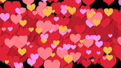 Heart transition 02 Animation