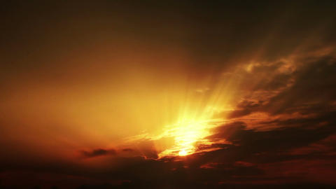 Sunset sky Footage