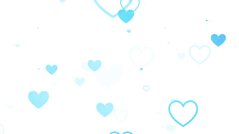 背景素材 ループ かわいい VJ 結婚式、パーティ CG動画