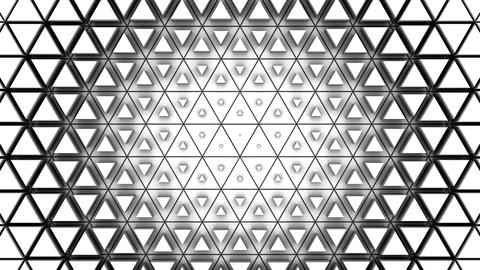 Triangles Form A Wave CG動画
