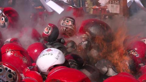 岡谷だるま祭り 浄焼式 ライブ動画