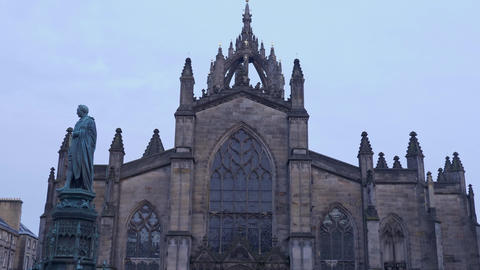 St Giles Cathedral in Edinburgh Live Action