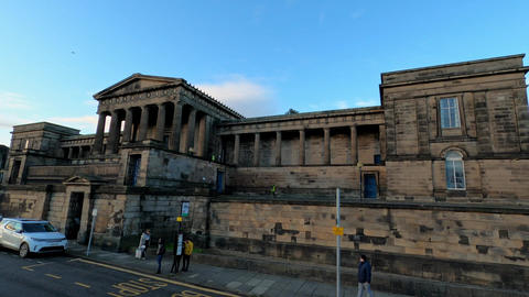 St. Andrews House - the Scottish Government - EDINBURGH, UNITED KINGDOM - Live Action