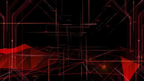 Digital data computer AI technologies concepts Background 5 black08 CG動画